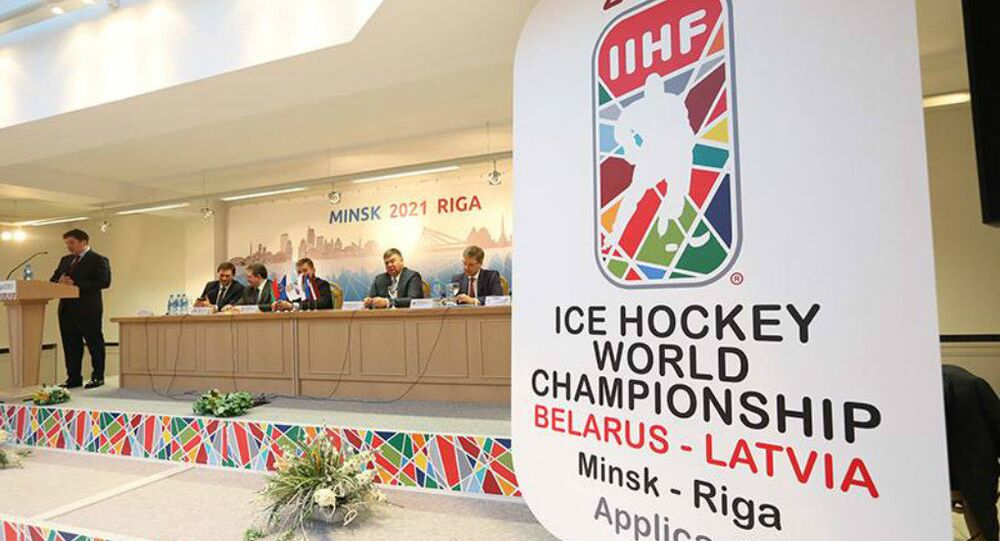2021  IIHF Ice Hockey World Championship coming to Minsk and Riga