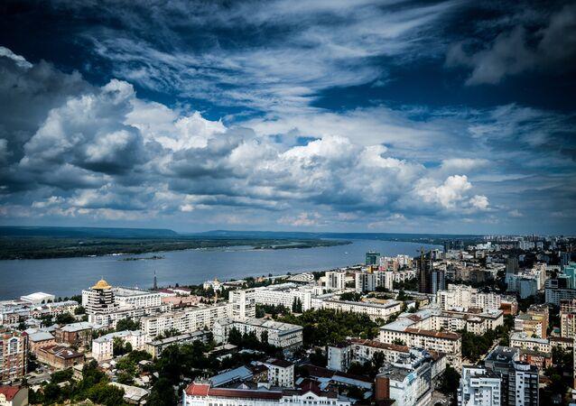 Cities of Russia. Samara