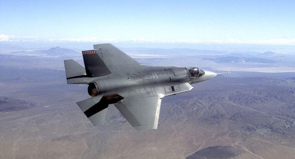F-35 fighter jet. File photo