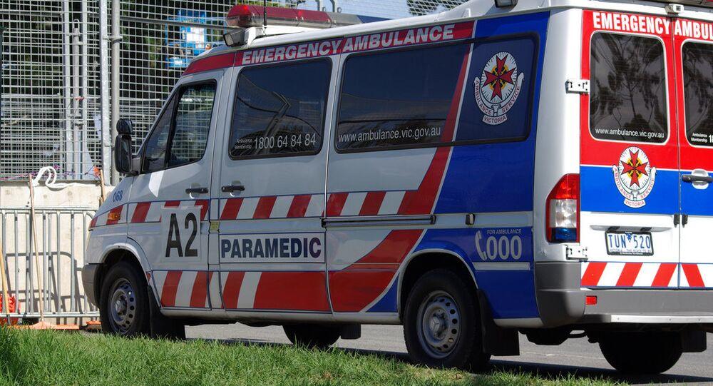 South Melbourne ambulance