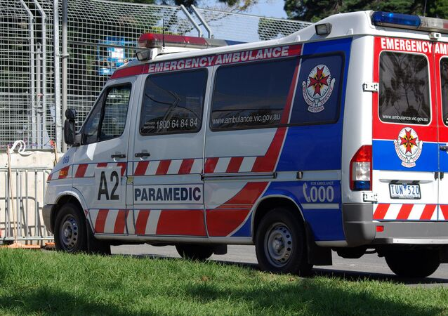 South Melbourne ambulance
