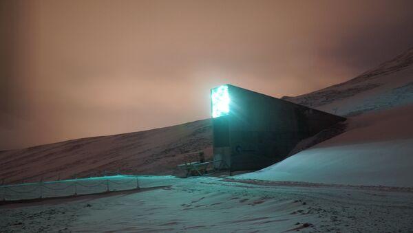 Global Seed Vault in Svalbard, Norway - Sputnik International