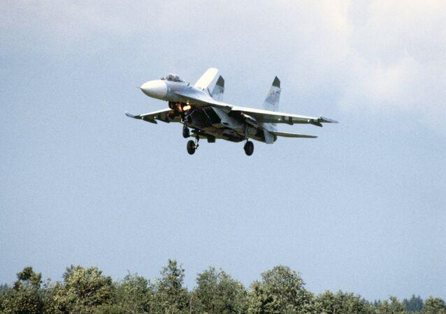 Su-27M fighter