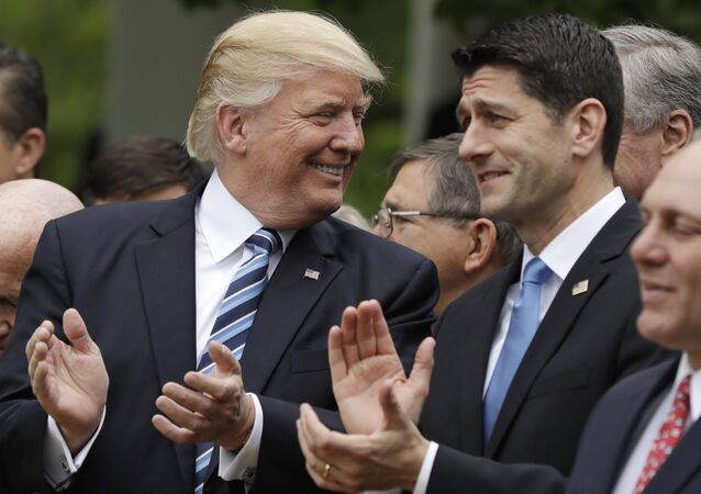 Donald Trump Paul Ryan Healthcare