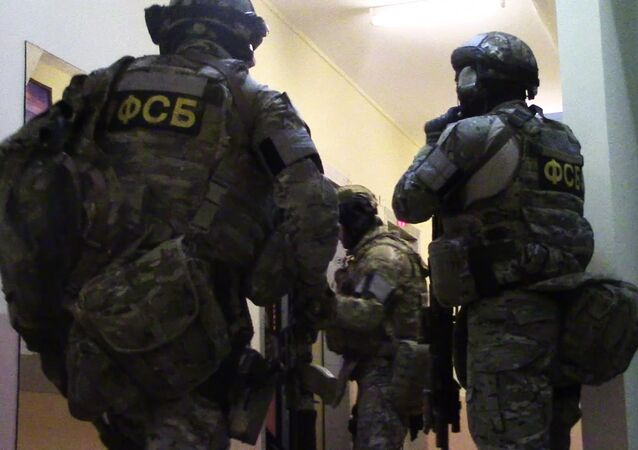 Federal Security Service agents. (File)