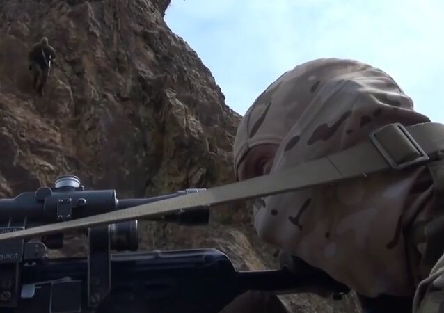 Cadets Of School Of Snipers Take Part In Tactical Trainings