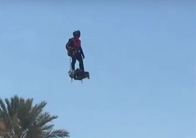 Reprise du Flyboard Air avec Franky Lake Havasu en Arizona