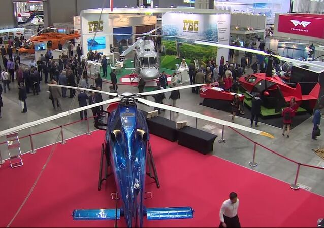 HeliRussia 2017 International Exhibition