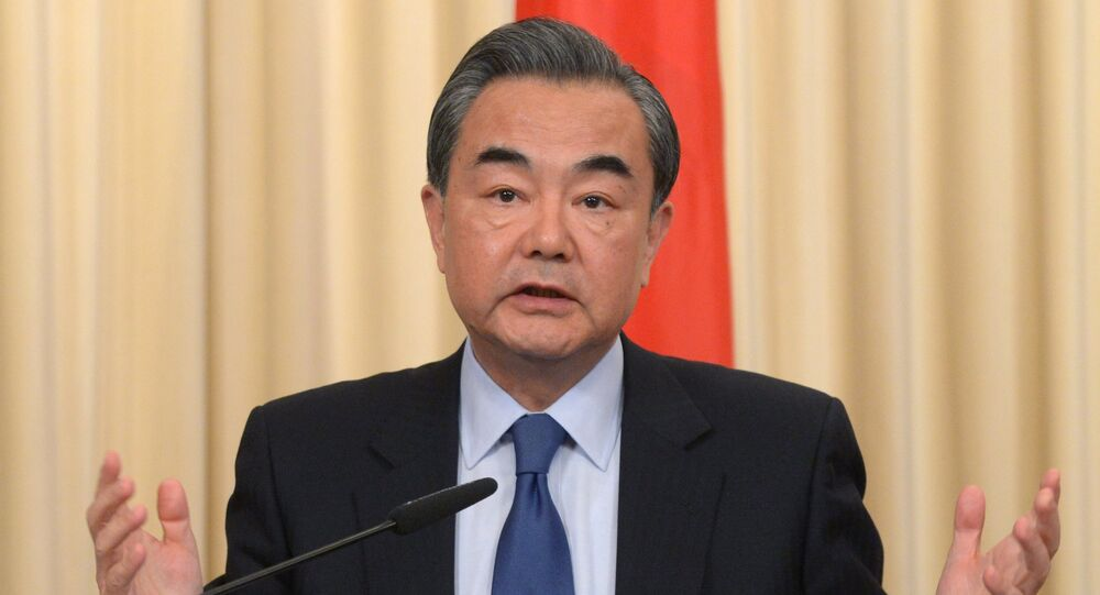 Foreign Minister of the People's Republic of China Wang Yi.