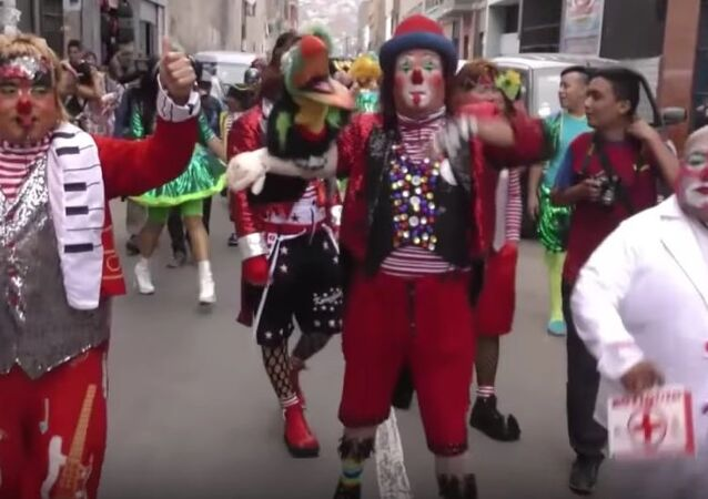 Clown Day 2017 in Peru
