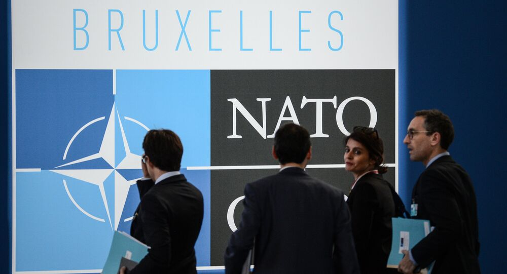 On the sidelines of the NATO summit in Brussels