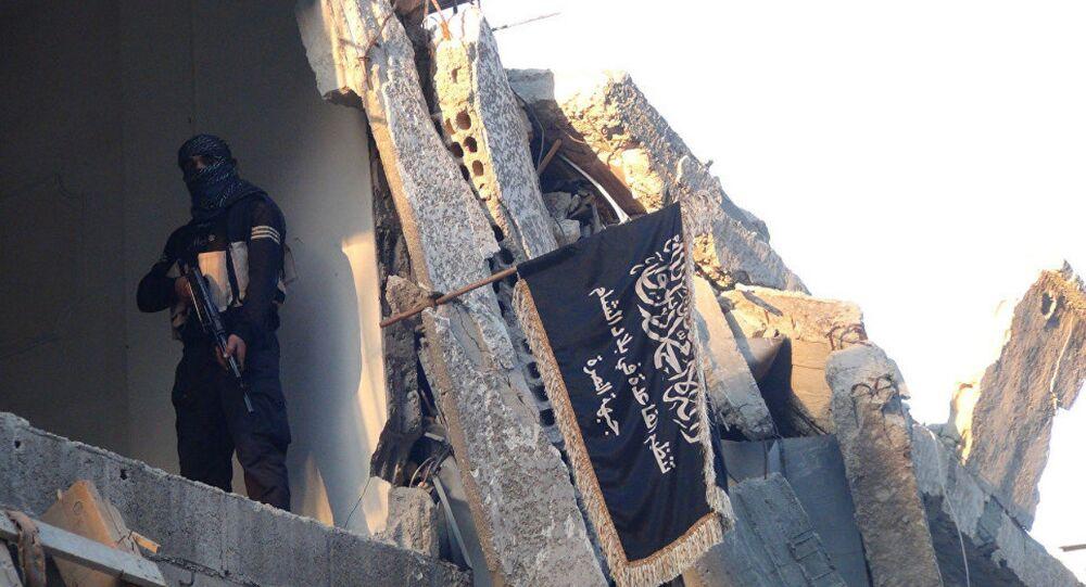 Jabhat al-Nusra fighter (File)