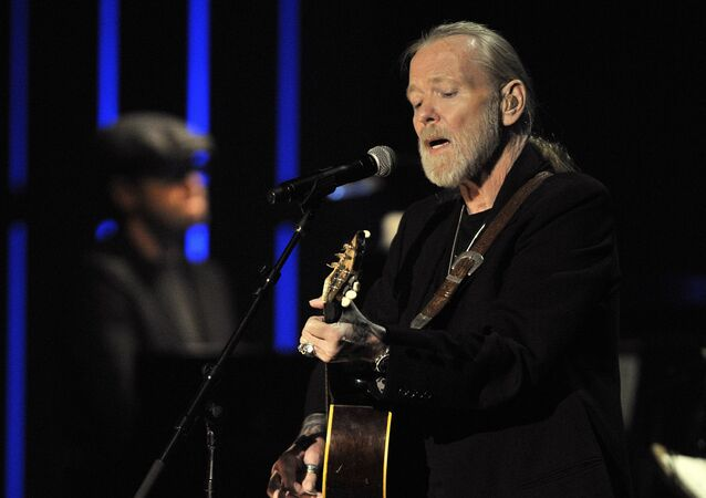 This Oct. 13, 2011 file photo shows Gregg Allman performs at the Americana Music Association awards show in Nashville, Tenn