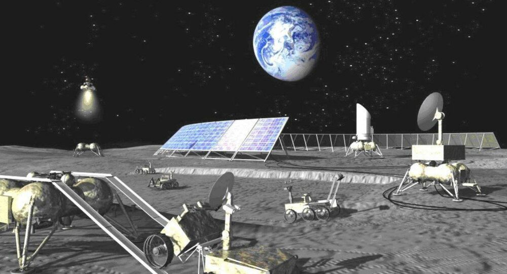 'Race' for Moon & Mars May Develop Between US-Led Bloc...