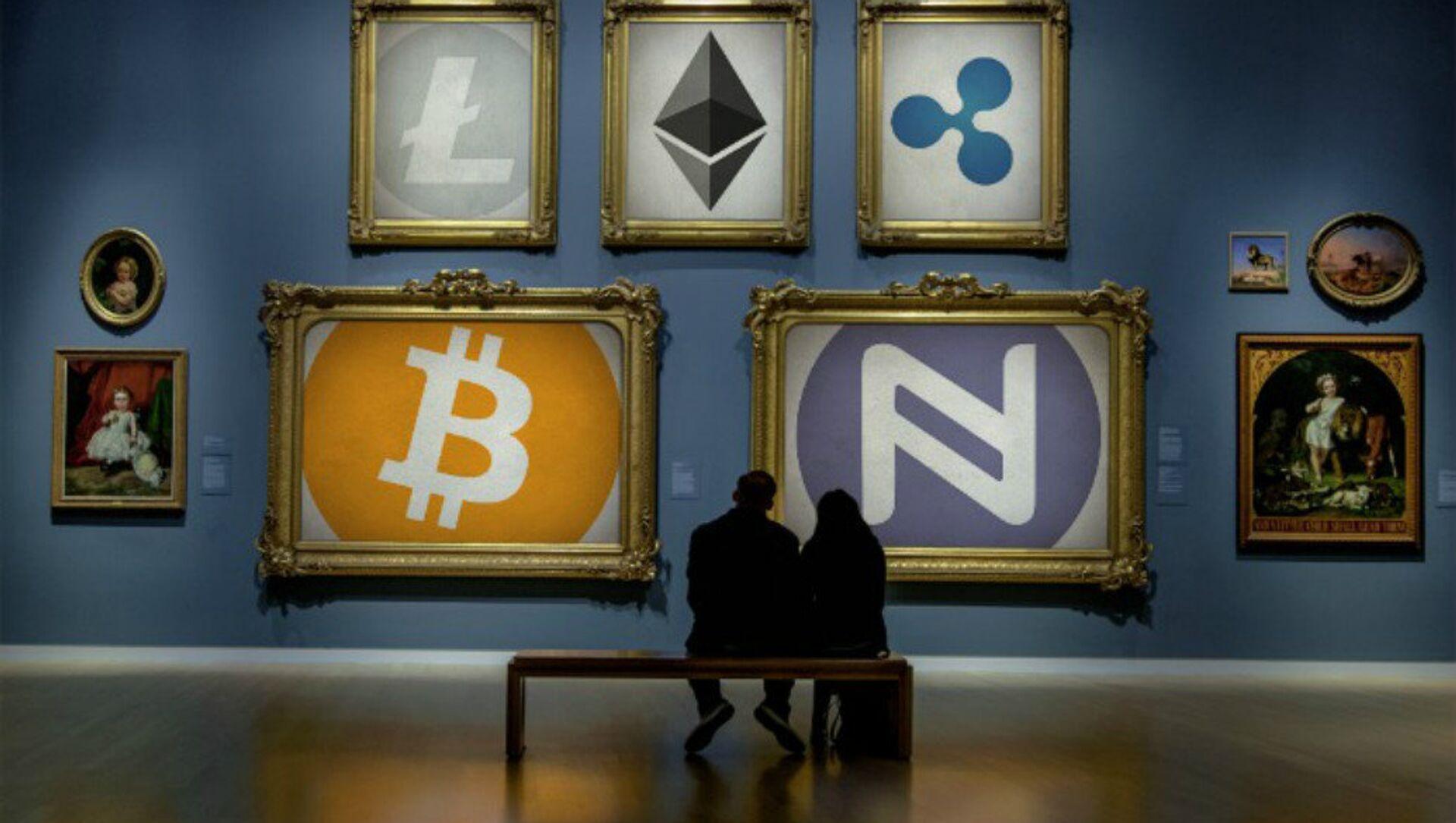 Cryptocurrency Art Gallery - Sputnik International, 1920, 27.07.2021