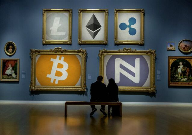 Cryptocurrency Art Gallery