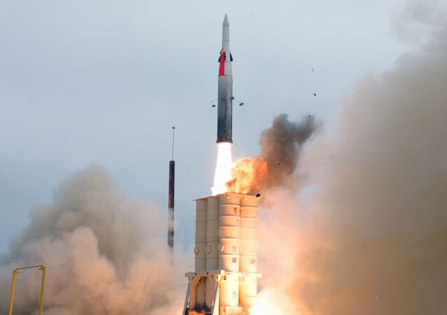 Arrow anti-ballistic missile launch (File)