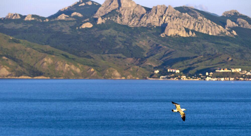 Karadag nature reserve in Crimea