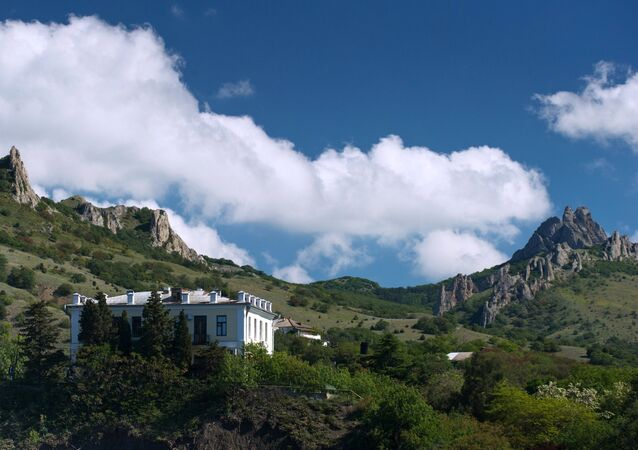 Karadag nature reserve in Crimea