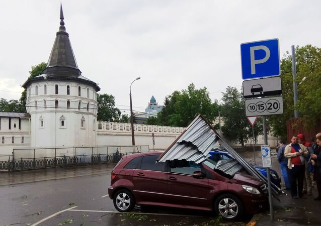 Storm in Moscow