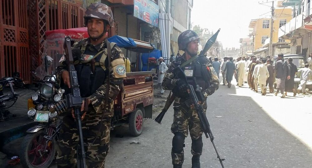 Afghan security forces arrive at the site of an attack in Jalalabad city, eastern Afghanistan May 17, 2017