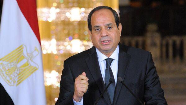 Egyptian President Abdel Fattah al-Sisi - Sputnik International