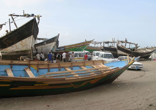 Al Hudaydah, Yemen - fishing boats