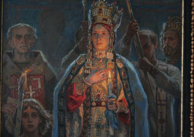 Anna Yaroslavna, also called Anna of Kiev and Anna of Rus. She reigned as the Queen Regent of France from 1060-1065.