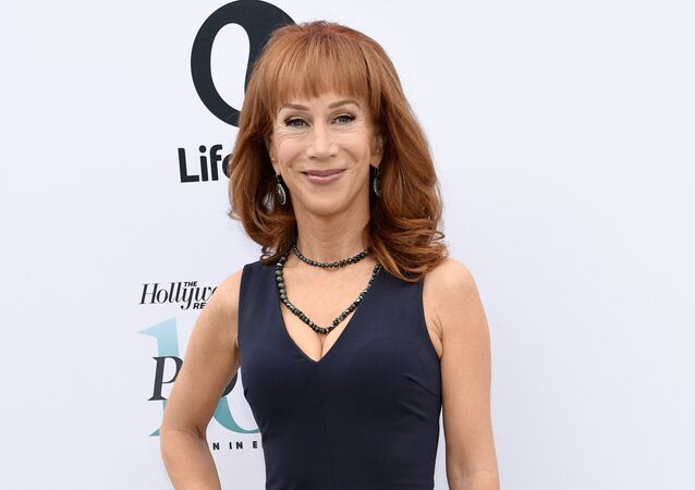 Comedienne Kathy Griffin