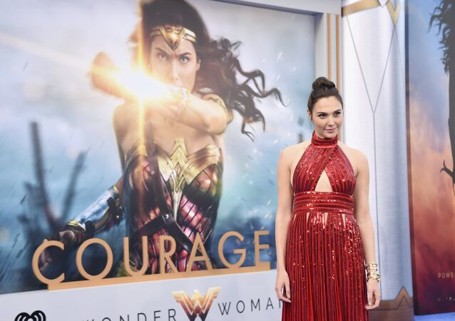 Gal Gadot arrives at the world premiere of Wonder Woman at the Pantages Theatre on Thursday, May 25, 2017, in Los Angeles.