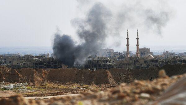 Attacking ISIS positions near Deir ez-Zor - Sputnik International