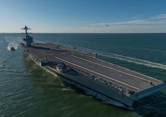 Huntington Ingalls Industries delivered the first-in-class aircraft carrier Gerald R. Ford (CVN 78) to the U.S. Navy on May 31, 2017.