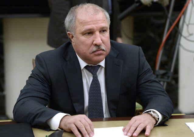 President of Independent Petroleum Company Eduard Khudainatov. (File)