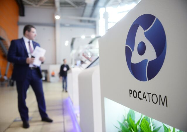 Rosatom's pavilion at the GOSZAKAZ – For Transparent Public Procurement 13th Forum & Exhibition in Moscow