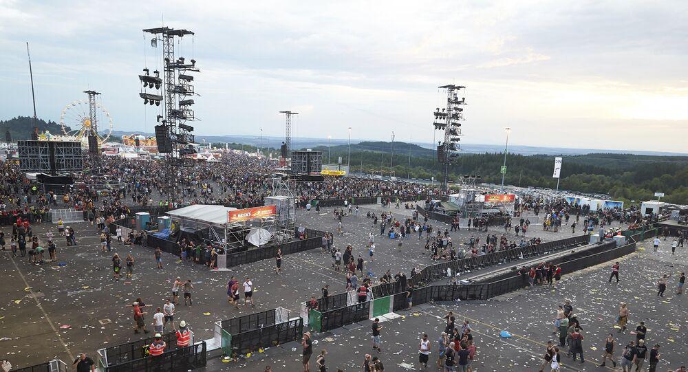 Germany Festival Terror Warning