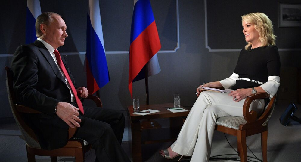 Megyn Kelly Reveals What It Is That Russians Love To See In Vladimir Putin Sputnik International