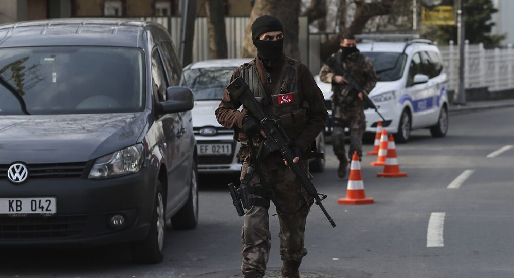 Turkish special security force members (File)