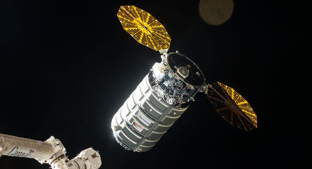 The Cygnus resupply ship