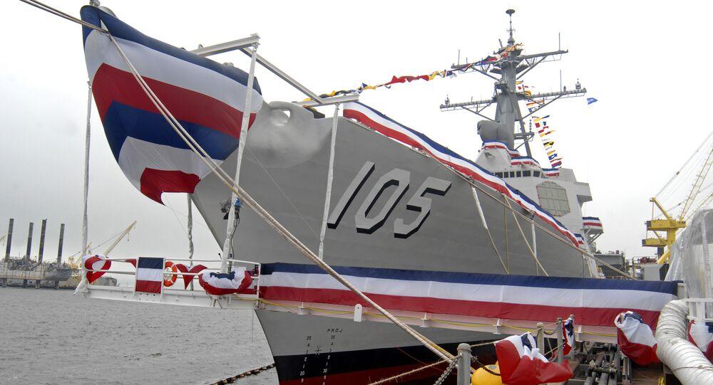 USS Dewey South China Sea