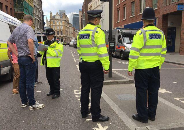 UK police officers