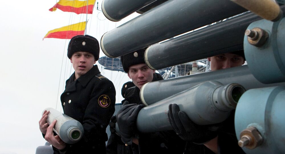 Military exercises of Russian Northern Fleet
