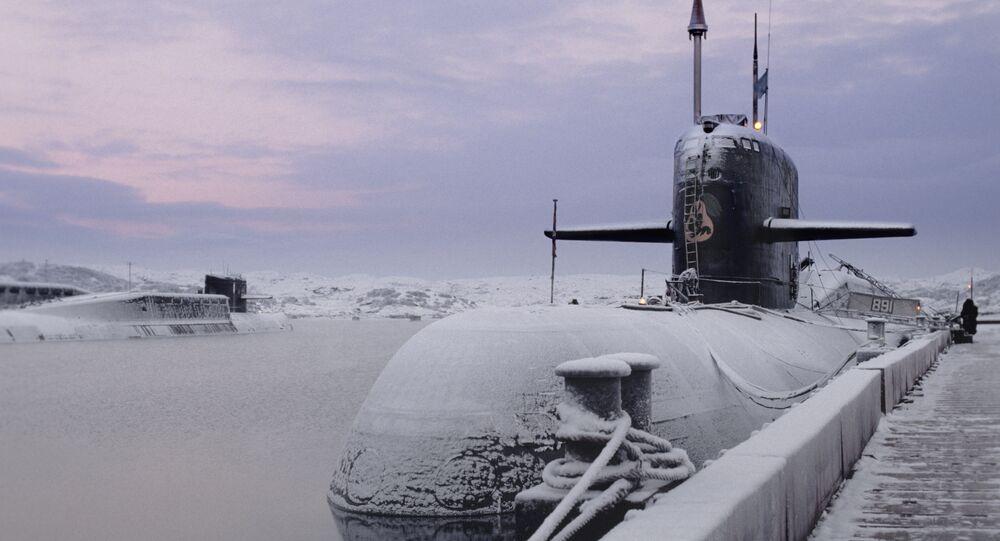 Nuclear-powered submarine