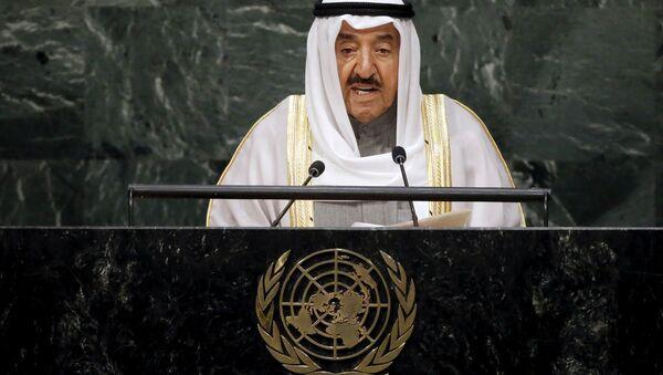 Kuwait's Emir Sheikh Sabah Al-Ahmad Al-Jaber Al-Sabah (File) - Sputnik International