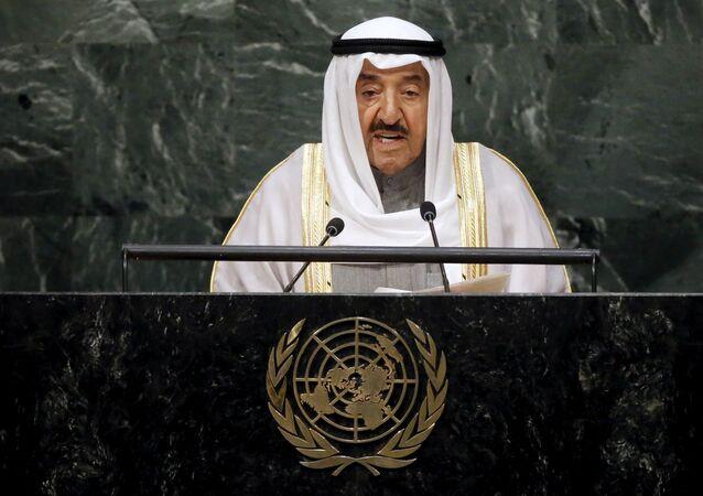 Kuwait's Emir Sheikh Sabah Al-Ahmad Al-Jaber Al-Sabah (File)