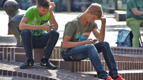 Young people in the street - Sputnik International