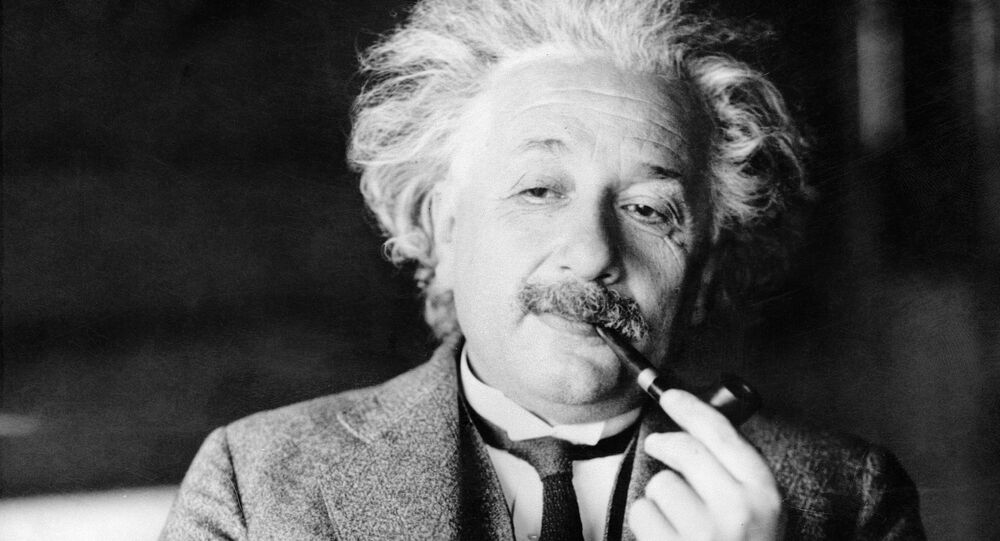 This undated file photo shows legendary physicist Dr. Albert Einstein, author of the theory of Relativity