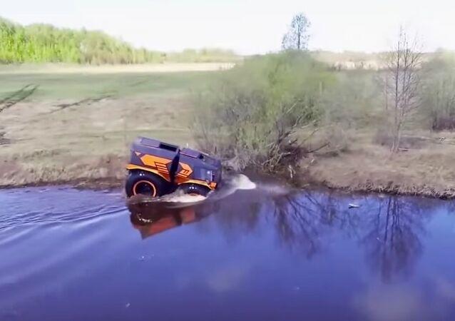 Amphibious ATV Shatun