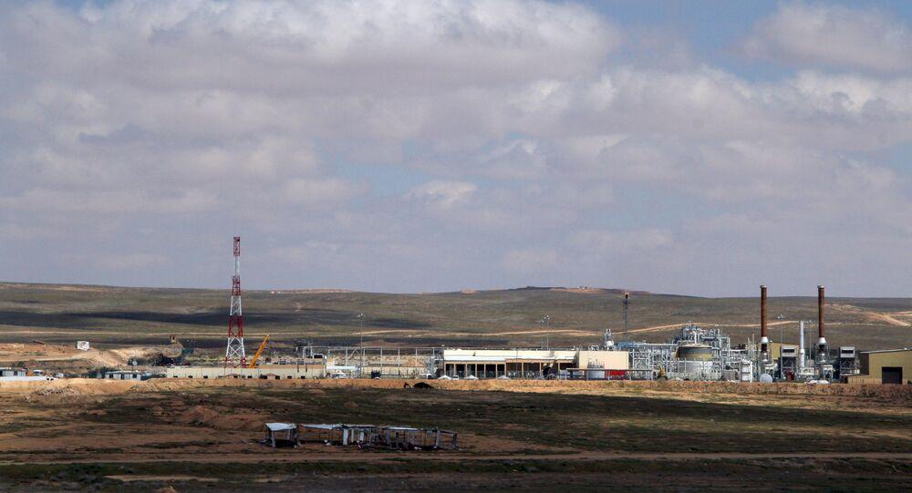 Shaer gas field. (File)