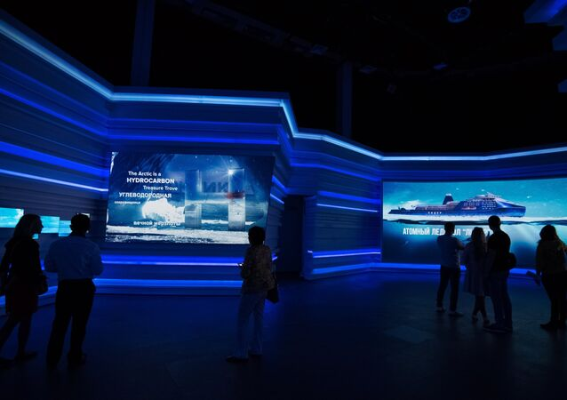 Visitors to the Expo 2017 specialized international exhibition in Astana