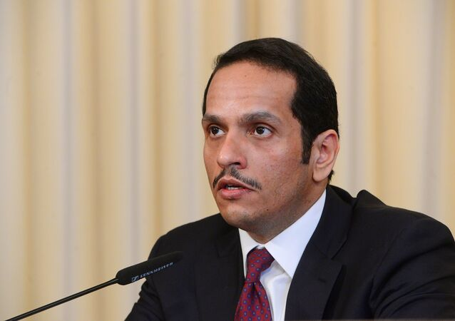 Qatari Foreign Minister Mohammed Al Thani